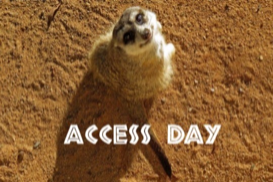 Autism Access Day - early entry to the zoo for family and friends